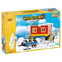 Cobi 22251 Arctic Base 250 Parça Wild Story