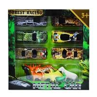 Erkol Oyuncak 958-6 Kutulu 6'lı Hayvanlar +6'lı Araba Set