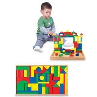 Karsan Oyuncak 061Kr Woodoy 54 Parça Büyük Ahşap Bloklar