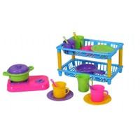 Mgs Oyuncak 0335 İki Katlı Mutfak Set