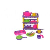 Mgs Oyuncak 0337 Üç Katlı Mutfak Set