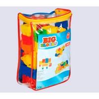 Mgs Oyuncak 0709 Big Blocks Lego 63 Parça Sırtçantalı