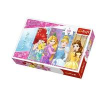 Vardem Oyuncak 18205 30 Parça Puzzle Prenses