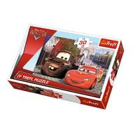 Vardem Oyuncak 18206 30 Parça Puzzle Cars