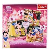 Vardem Oyuncak 34038 Mix Puzzle Prenses 20 36 50