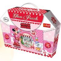 Vardem Oyuncak 14803 50 Parça Çantalı Glam Minnie Puzzle