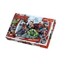 Vardem Oyuncak 16272 100 Parça Puzzle Avengers