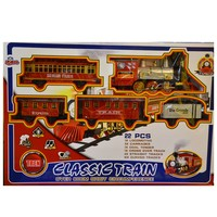 Vardem Oyuncak 10A 191 Kutulu Orbıt Classic Tren Set 22 Parça