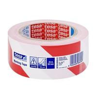 Tesa 60760 33M X 50Mm Kırmızı-Beyaz Yer İşaretleme Bandı