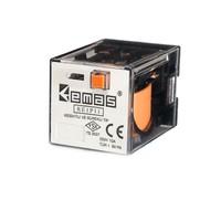 Emas Re1P11Ac048 Röle 3 Kontak 11 Pin 48 V Ac /