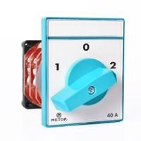 Metop Pako Şalter Kutup Değiştirici(2-0-1) 3P 40A Mt 029 40