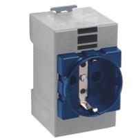 Bemis Priz Plastik Ip44 16A Raytip 2P+E Mavi
