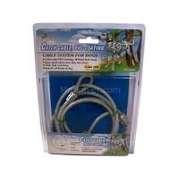 Percell Köpek Bahçe Bağlama Çelik Halat 1,5 Metre*77Kg