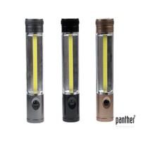 Panther Pt-1301 Pille Çalışan Çok Fonksiyonlu 25+1 Cob Ledli El Feneri
