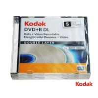 Kodak Dvd+R Dl 8.5 Gb 240 Min. 5Li Paket