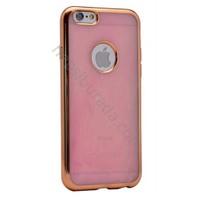 Case 4U Apple iPhone 6 Store Silikon Kılıf Pembe