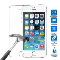 Case 4U Apple iPhone SE Kırılmaz Cam Ekran Koruyucu