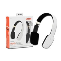 Ednet Katlanabilir Bluetooth Kulaklık (Ednet Bluetooth &Quot;Head Bang&Quot; Headphone), Beyaz Renk