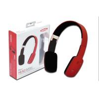 Ednet Katlanabilir Bluetooth Kulaklık (Ednet Bluetooth &Quot;Head Bang&Quot; Headphone), Kırmızı Renk