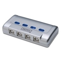 Digitus Usb Sharing Switch, Usb 2.0, 4 Pc, 1 Usb Cihaz