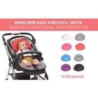 Ubeybi Renklimin Bebek Kafa Koruma Yastığı
