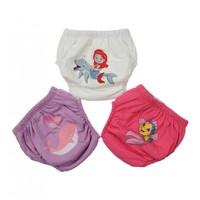 Modakids Kız Bebek Sevimli 3 lü Alıştırma Külodu 035-60155-035