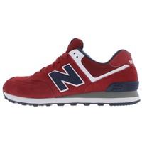 New Balance 574 Günlük Spor Ayakkabı Kırmızı Ml574vba