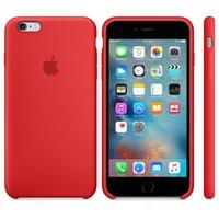 Apple iPhone 6/6S Orjinal Silikon Kılıf Kırmızı (İthalatçı Garantili)