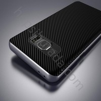 Case 4U Samsung Galaxy Note 7 Hybrid Korumalı İnce Arka Kapak Gri