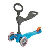 Micro Mini Scooter Oturak O Ve T Bar 3 Lu Aqua Mcr.Mm0107