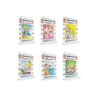 Ana Okulları için Eğitici-Öğretici Boyama Kitabı (6 Kitap Takım)