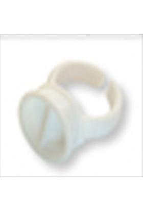 Tanaçan İpek Kirpik Uygulama Yüzüğü 10 Adet