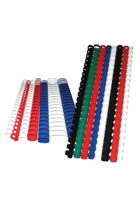 Sistem Spiral 16 mm Plastik Siyah 100 lü Cilt Spirali