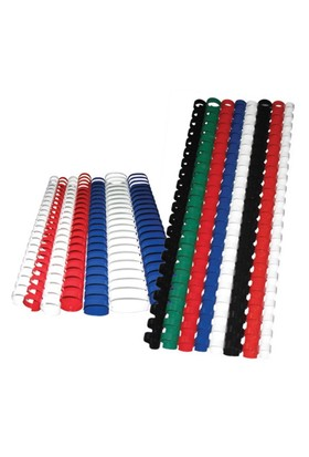 Sistem Spiral 51 mm Plastik Beyaz 50 lü Cilt Spirali