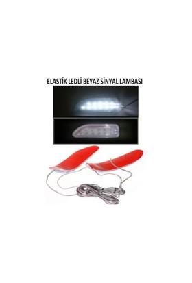 Space 2'li Elastik Kıvrılabilen Çok Amaçlı Ledli Lamba Beyaz