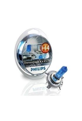 Philips H4 5000 Kelvın Diamond Vision 12V 60/55W