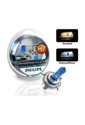 Philips H7 5000 Kelvın Diamond Vision 12V 55W