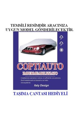 Coptiauto Özel Üretim Daewoo Lanos 4 Kapı Uyumlu Ultra Lüx Oto Branda Müflonlu