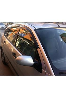 Door Visor Ford Fiesta 2005 Mugen Model Cam Rüzgarlığı Ön Arka Takım
