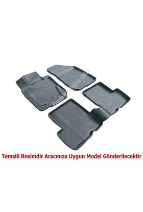 3D Paspas Honda Civic Sedan 2006 -2012 Arası Krem Havuzlu Paspas - Bej