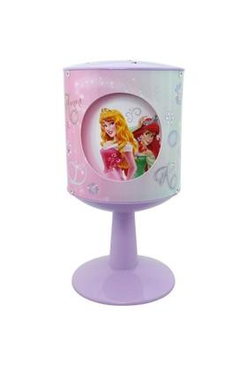 Disney Prenses Pencereli Abajur