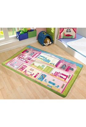 Confetti Kids Rug- Game House (100x160cm)