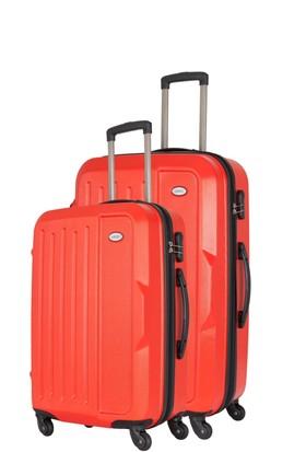 Wexta Kırmızı 2li Valiz Seti Büyük & Orta Boy