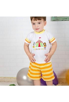 Wonder Kids Carnaval 2li Bebek Takım Çizgili