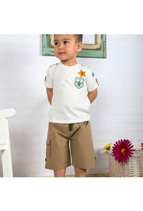 Wonder Kids Şort - T-Shirt Camp 2li Bebek Takım