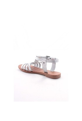 Gio&Mi Gümüş Sandalet V26