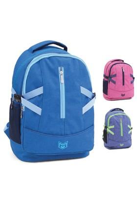 Mikro 712Ç Okul Çantası Mavi