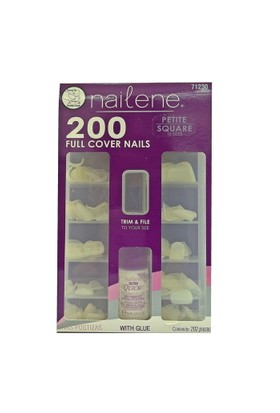 Nailene 200'lü Düz Tırnaklar 71230