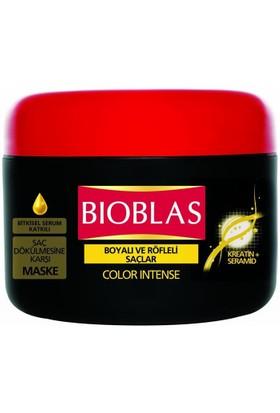 Bioblas Saç Dökülmesine Karşı Bakım Maskesi 280 Ml Boyalı/Röfleli