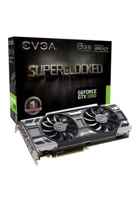 EVGA Nvidia GeForce GTX 1080 SC Gaming ACX 8GB 256Bit GDDR5 (DX12) PCI-E 3.0 Ekran Kartı 08G-P4-6183-KR